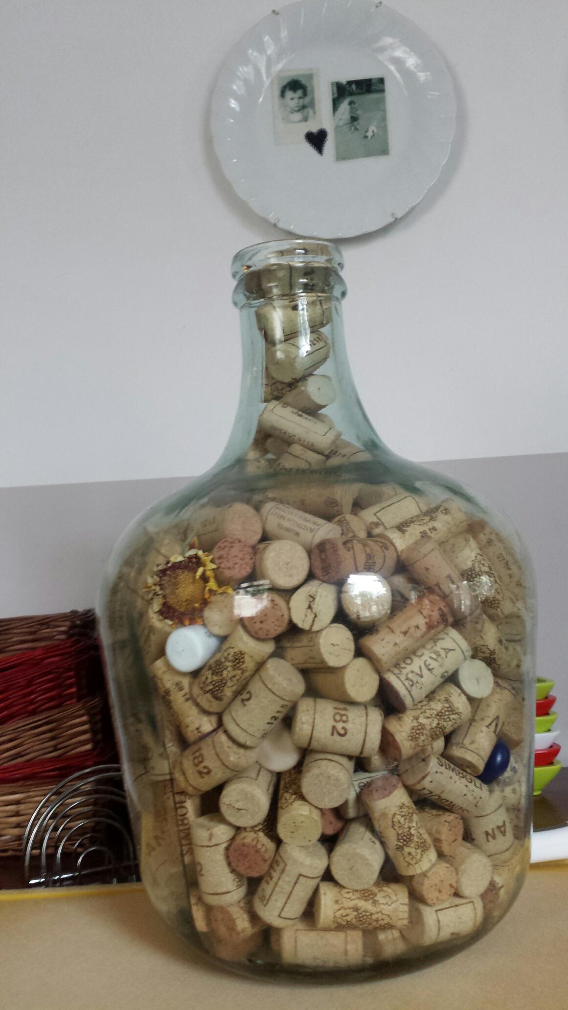 Kurken in de fles